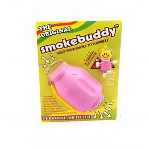Stealth, compact, and easy to use Exhale smoke into the chamber and odorless air comes out the other end Smoke on-the-go